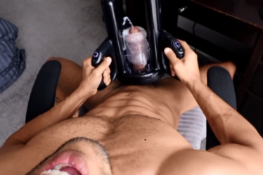 Pornhub - TripleXKale - MILKING MY COCK FOR THE 7TH TIME TODAY (FLESHLIGHT LAUNCH)